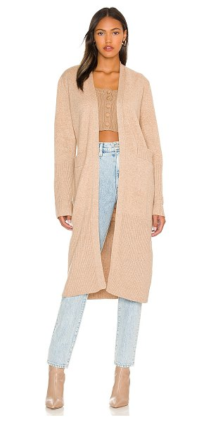 One Grey Day ashley duster in camel
