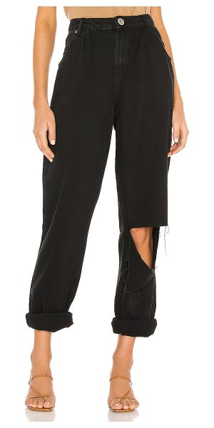 One Teaspoon smiths high waist trouser wide leg. - size 22 (also in black