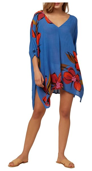 O'Neill tessa cover-up dress in blue