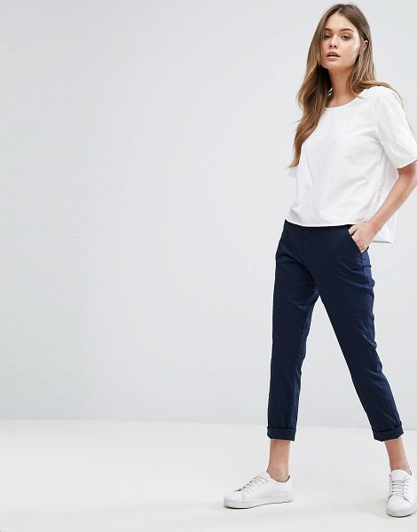 Only slim chino pants-navy in navy