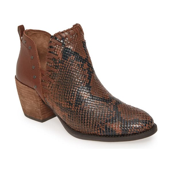 OTBT santa fe ankle bootie in tuscany leather