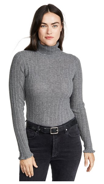 PAIGE chelsea turtleneck sweater in thunder