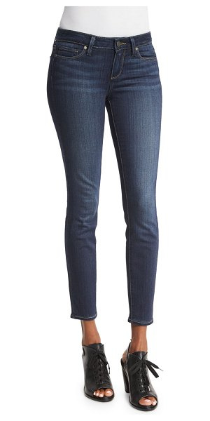 PAIGE Verdugo Ultra-Skinny Ankle Jeans in blue