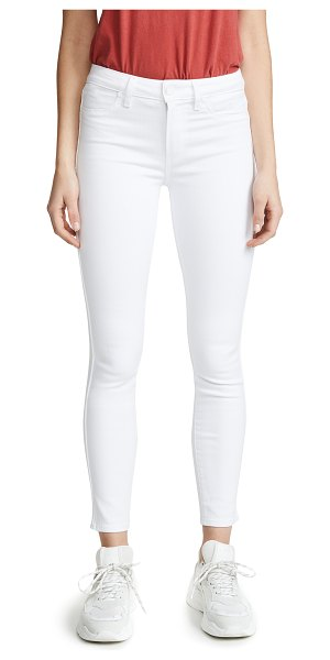 PAIGE hoxton ankle skinny jeans in ultra white