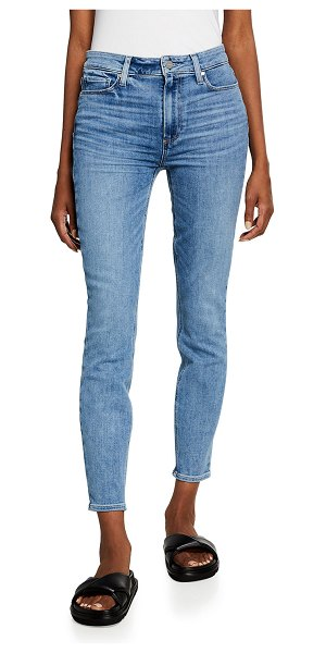 PAIGE Hoxton Skinny Ankle Jeans in adventurous