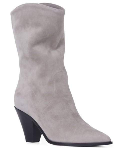 PAIGE landyn pointed toe bootie in stone