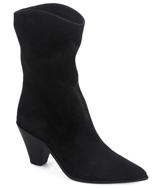 PAIGE landyn pointed toe bootie in black