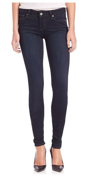 Paige Jeans verdugo transcend mid-rise ultra-skinny extra-long leggy jeans in mona