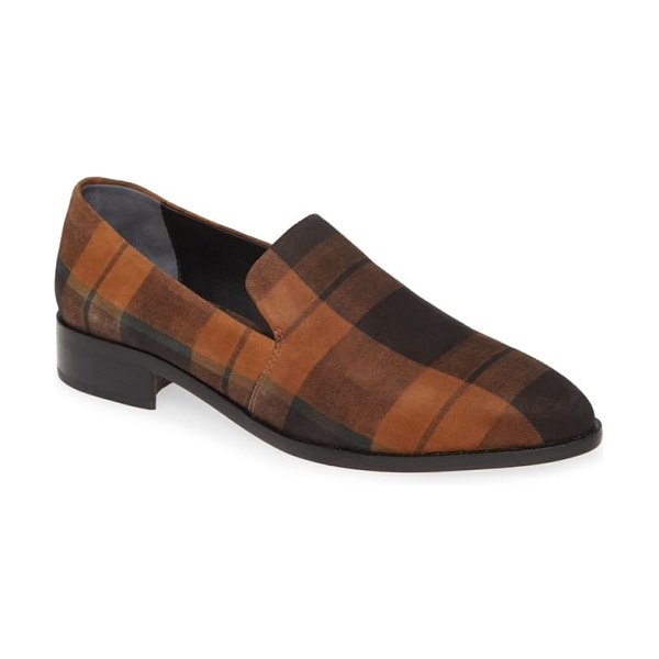 PAIGE madison loafer in cognac multi