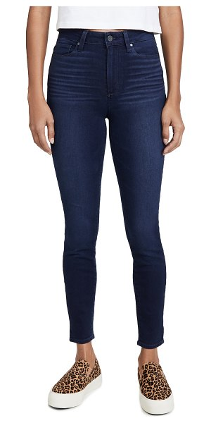 PAIGE margot ankle skinny jeans in paradise cove