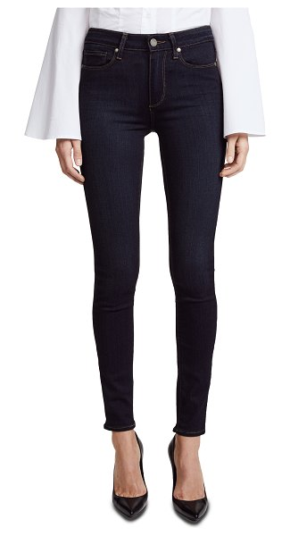 PAIGE transcend hoxton ultra skinny jeans in mona
