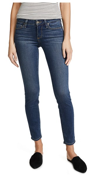 PAIGE transcend verdugo ultra skinny ankle jeans in tristan