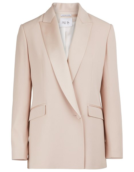 Pallas Eden double-breasted jacket in pink