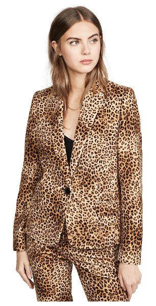 Pallas fanny animal print jacket in leopard