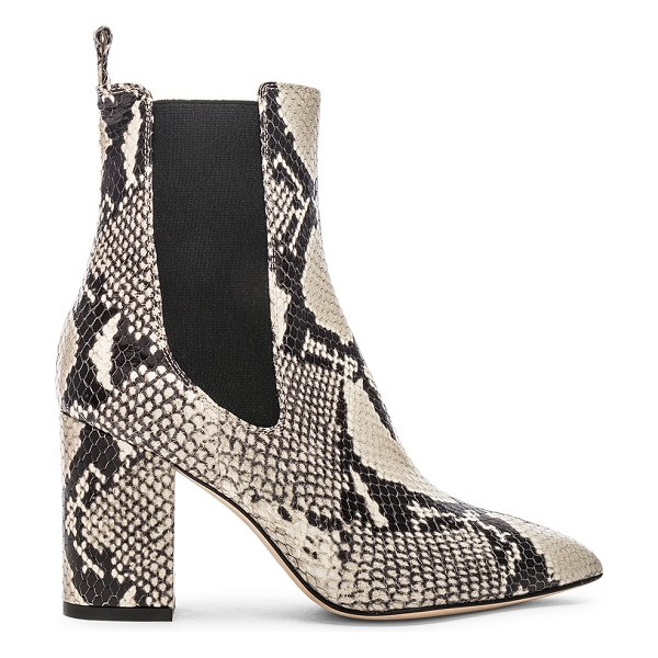 Paris Texas ankle boot in natural snake