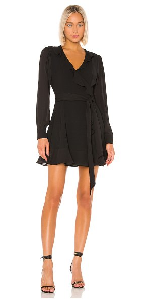 Parker cadance combo dress in black