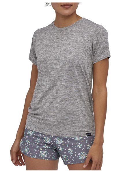 Patagonia capilene cool daily t-shirt in feather grey