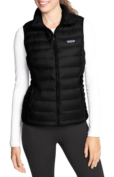 Patagonia down vest in black