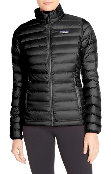 Patagonia down jacket in classic navy