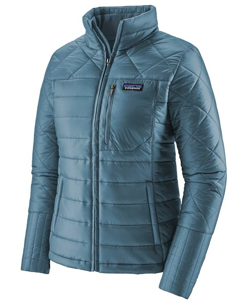 Patagonia radalie water repellent thermogreen-insulated jacket in pigeon blue