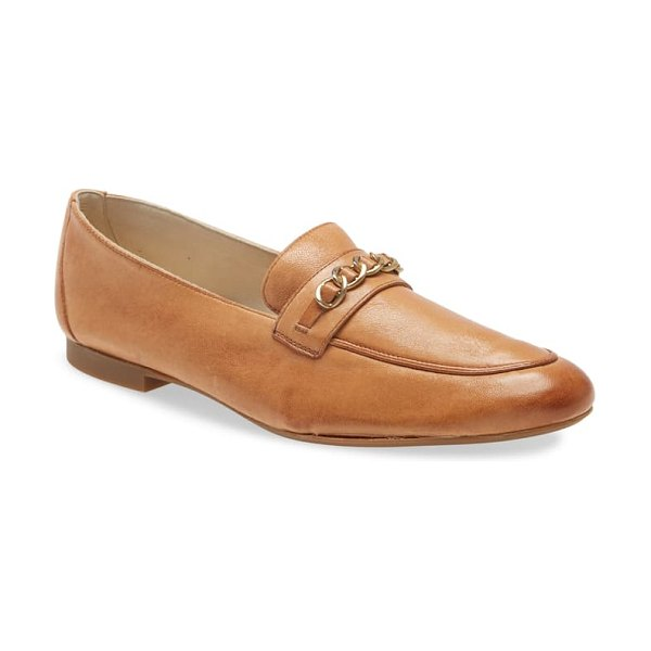 Paul Green char loafer in washed cuoio