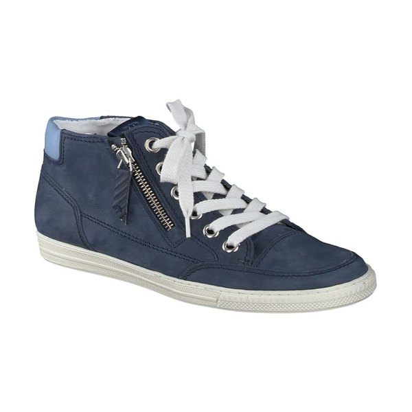 Paul Green felicity sneaker in indigo denim combo