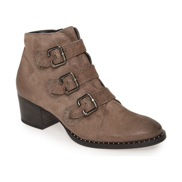 Paul Green soho bootie in mineral nubuk