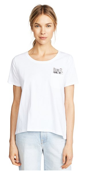 Paul & Joe Sister glendale tee in blanc
