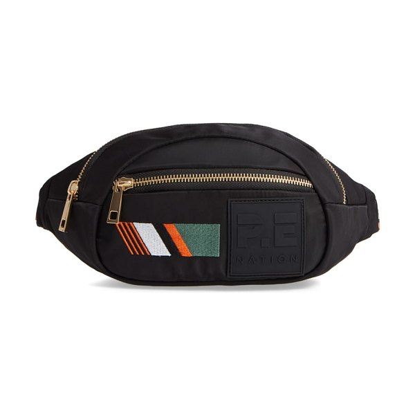 P.E NATION the lay back belt bag in black - Tote the essentials (phone, wallet, keys, granola bars)...