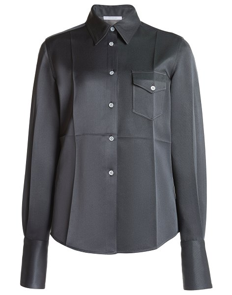 Peter Do fitted classic shirt in grey