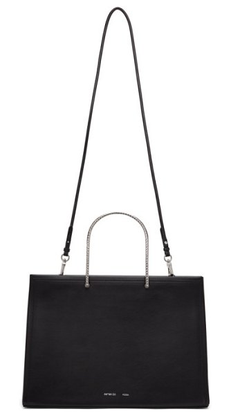 Peter Do medea edition evening tote in black