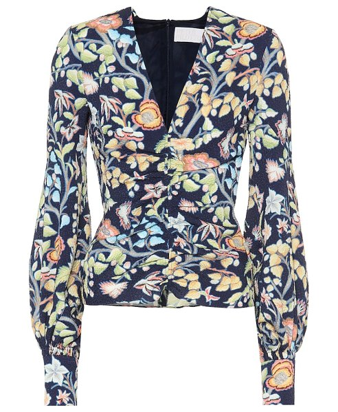 Peter Pilotto floral blouse in multicoloured