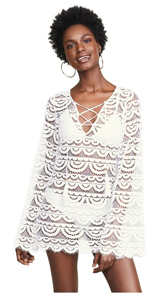 PQ Swim noah tunic in white