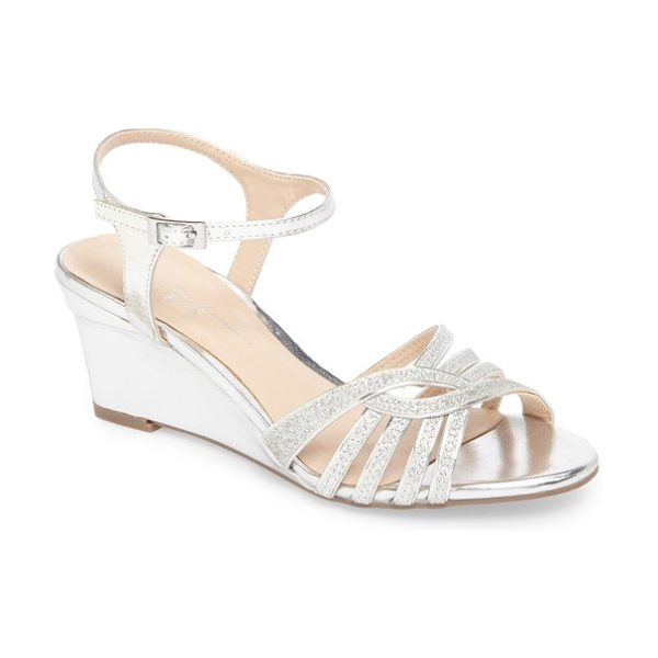 PARADOX LONDON PINK karianne wedge sandal - A sleek wedge adds just-right height to a strappy party...