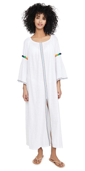Pitusa gypsy maxi dress in white