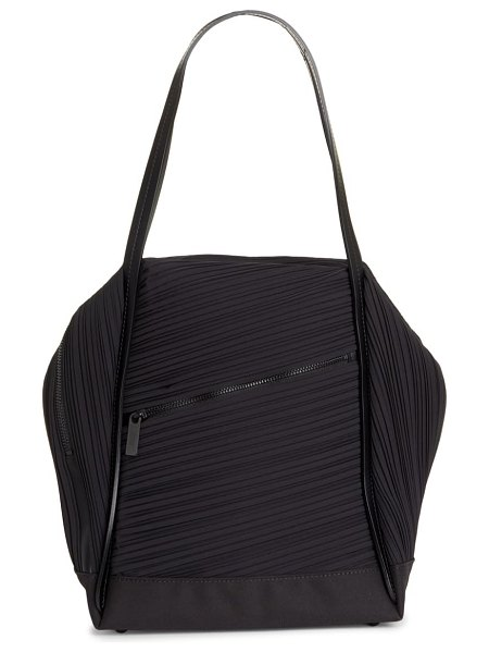 Pleats Please Issey Miyake issey miyake pleats please pleated shoulder bag in black