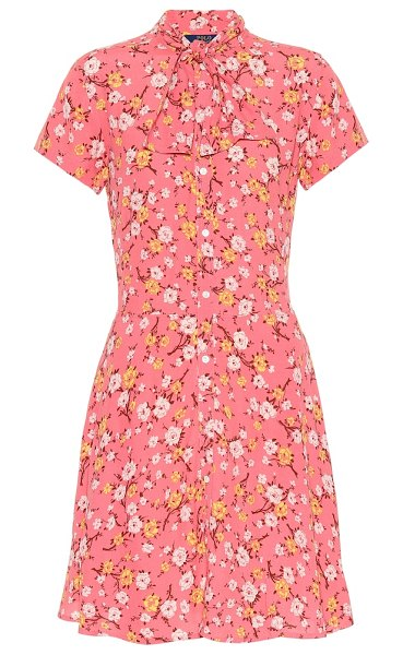 Polo Ralph Lauren floral minidress in pink