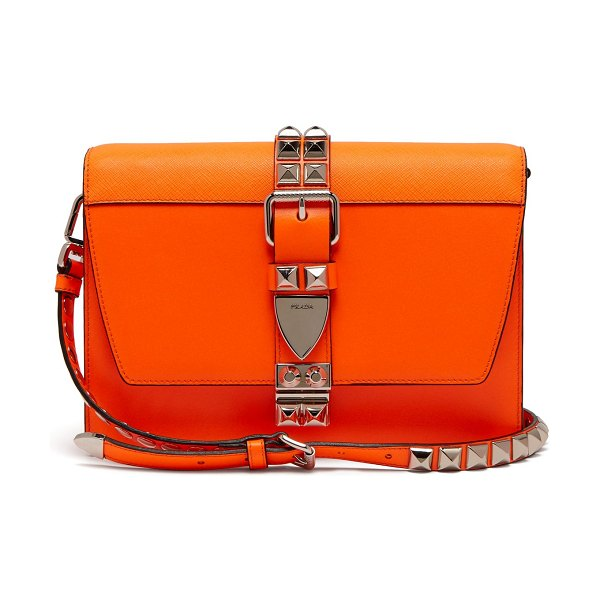 cce104bdedcb Prada Elektra Leather Cross Body Bag in Orange