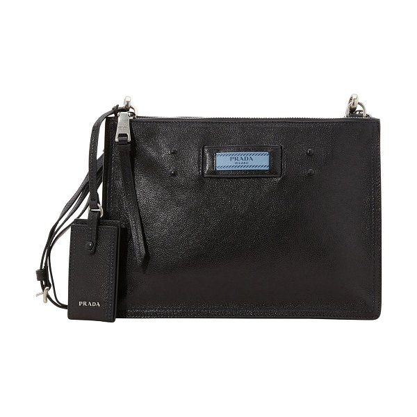 Prada Shoulder bag - Prada reinvents an iconic Italian leather goods format...