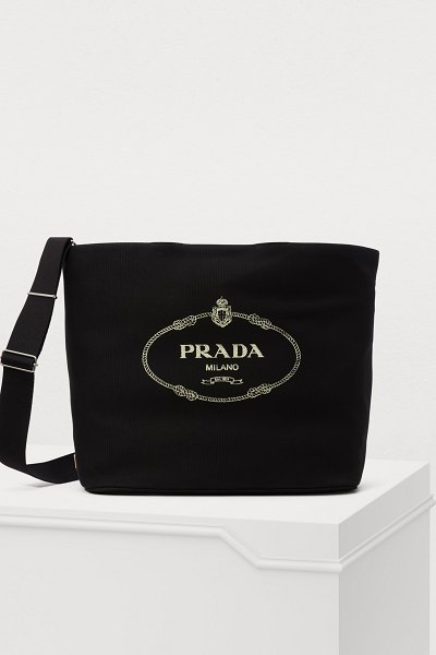 Prada Tote with strap - Prada's sophisticated fashion takes on a casual touch...