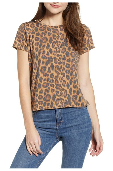 Prince Peter leopard tee in brown - Add a dash of exoticism to your basics wardrobe with...