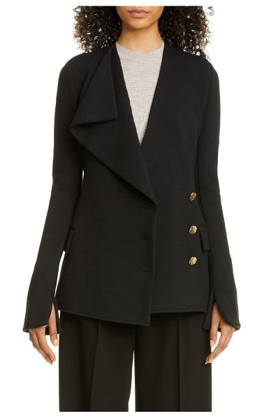 Proenza Schouler asymmetrical jacket in black