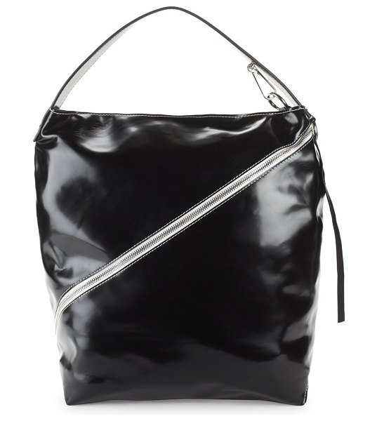 Proenza Schouler Large Leather Hobo Bag in Black  aa28295028501