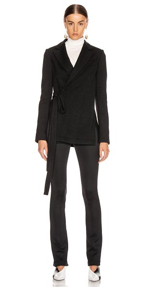 Proenza Schouler wrap jacket in black
