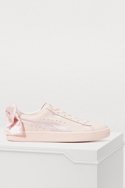 PUMA Bow sneakers in pearl