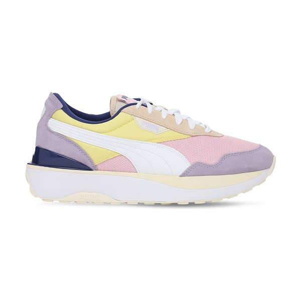 PUMA Cruise rider silk road sneakers in pink lady