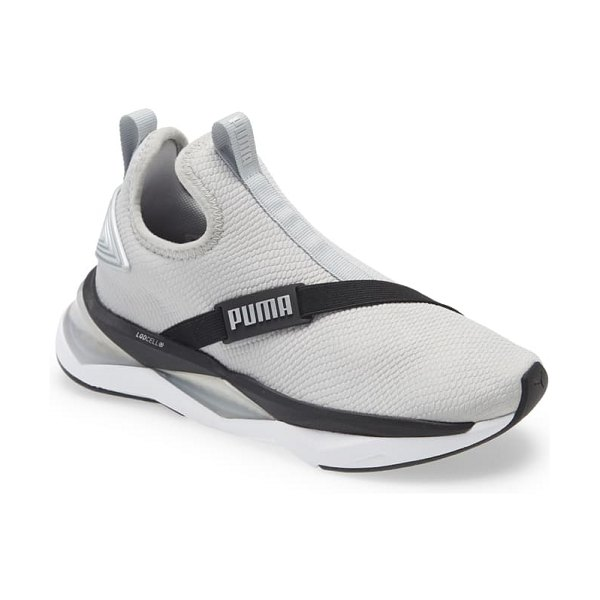 PUMA lqdcell shatter mid training shoe in high rise