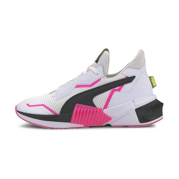 PUMA provoke xt sneakers in black and pink in black