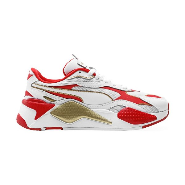 PUMA rs-x³ mesh sneakers in white