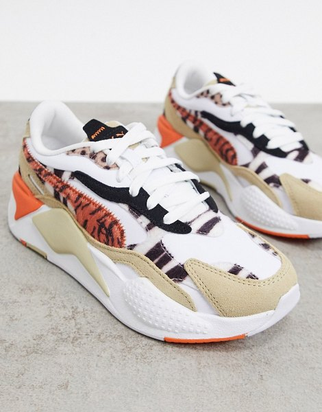 PUMA rs-x3 sneakers in mixed animal print-multi in multi